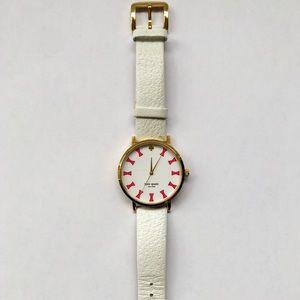 Kate Spade Bow-Tie Leather Women's Watch